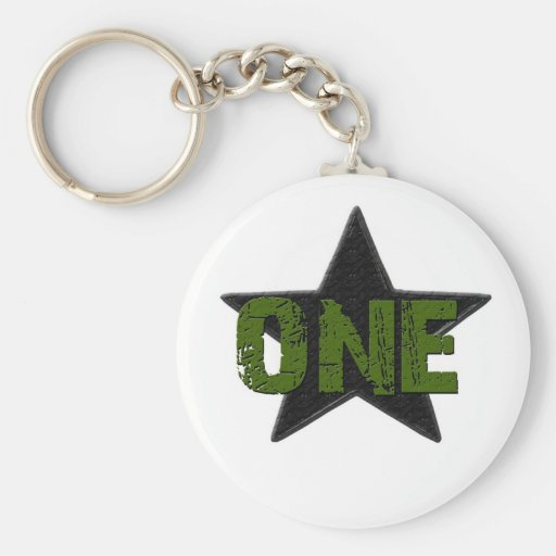 Star Number1 Key Chain