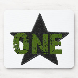 Star Number1 Mouse Pad