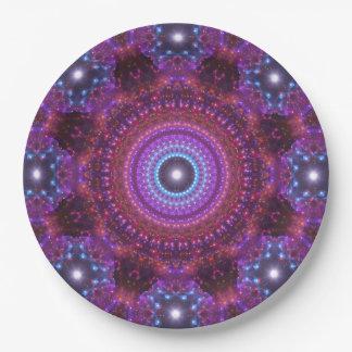 Star Ocean Mandala Paper Plate