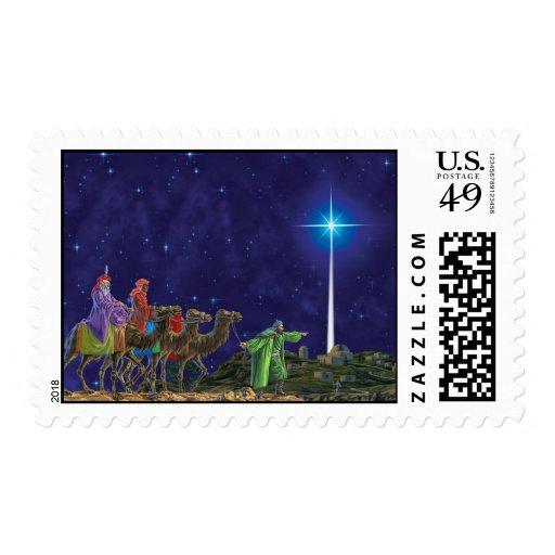 Star of Bethleham Postage Stamp