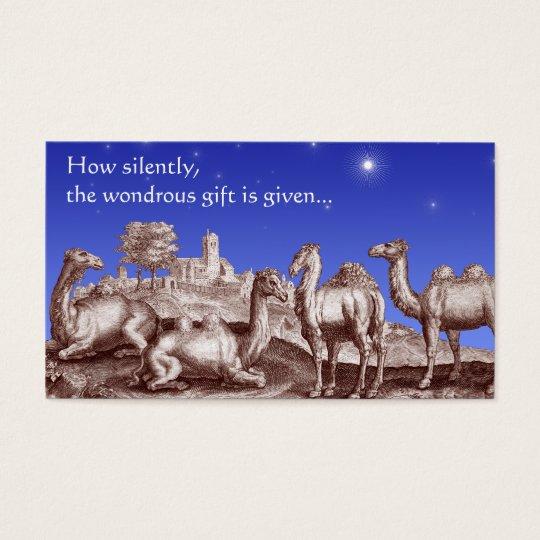 Star of Bethlehem Biblical Christmas Gift Cards