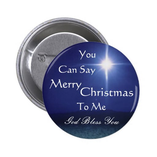Star of Bethlehem, Can Say, Merry,... - Customized Pins