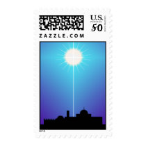 Star of Bethlehem Christmas POSTAGE STAMPS