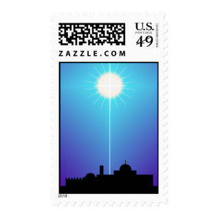 Star Of Bethlehem Christmas Postage Stamps at Zazzle