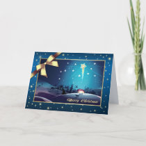 Star of Bethlehem. Customizable Christmas Card