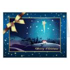 Star of Bethlehem. Customizable Christmas Card