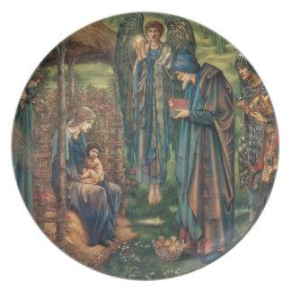 Star of Bethlehem Dinner Plate