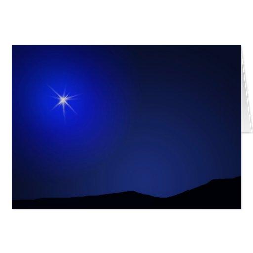 Star of Bethlehem Lighting The Way Cards
