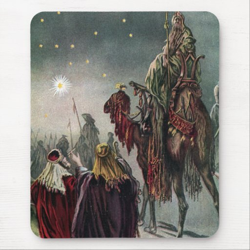 Star of Bethlehem Mouse Pad