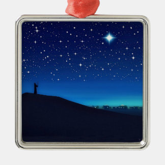 Star of Bethlehem Premium Square Ornament