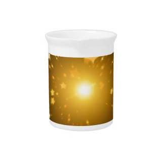 Star of Christmas Drink Pitcher