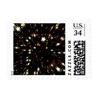 Star of Christmas Postage Stamp