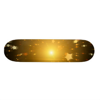 Star of Christmas Skateboard