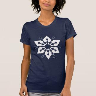 Star of Christmas Winter Ice Crystal Snowflake Shirt