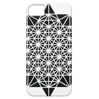 Star of Creation Space Time Mandala iPhone SE/5/5s Case