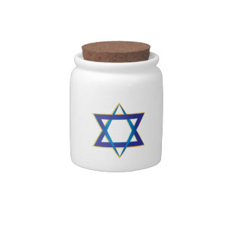 Star Of David 1 Candy Jars