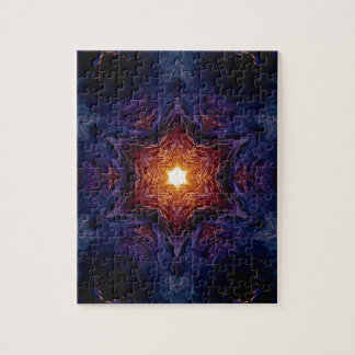Star of David 1 Jigsaw Puzzle