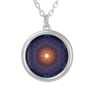 Star of David 1 Silver Plated Necklace