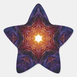 Star of David 1 Star Sticker