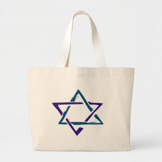 STAR OF DAVID 3 CANVAS BAGS