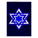 Star of David 3d Card