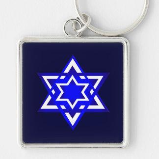 Star of David 3d Keychain