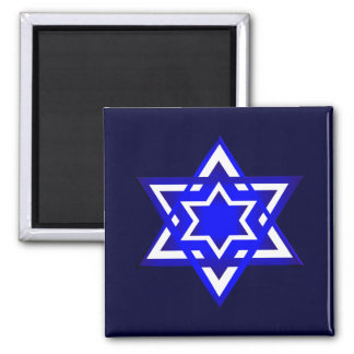 Star of David 3d Magnet