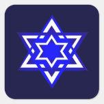 Star of David 3d Stickers