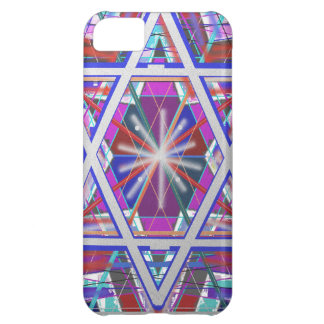 Star of David,... a blend of colors. Case For iPhone 5C