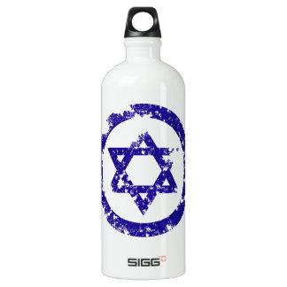 Star of David Aluminum Water Bottle