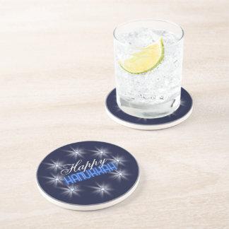 Star of David Array Blue SDAB Drink Coaster