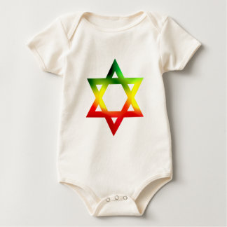 Star of David Baby Bodysuit