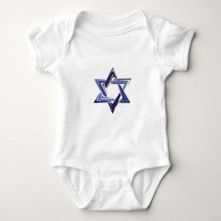 Star of David Baby Bodysuit