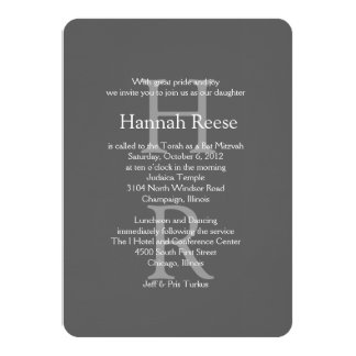 STAR OF DAVID Bar Bat Mitzvah Classic Invitations