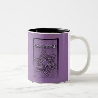 Star of David Bar Mitzvah Coffee Mugs