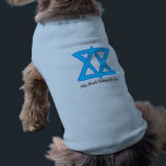 """Star of David &quot;Bark Mitzvah&quot; shirt for dogs<br><div class=""""desc"""">for your Jewish pet</div>"""