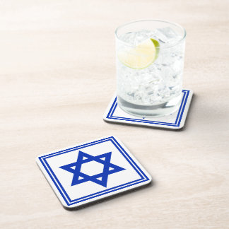Star of David Beverage Coaster