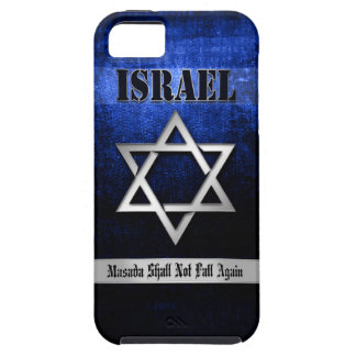 Star of David Blue & Silver iPhone 5 Case