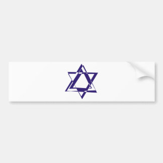 Star of David Bumper Stickers