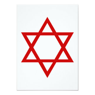 Star of David Card