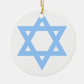 Star of David Customized Hanukkah Ornament