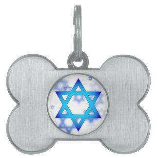 Star of David dog tag