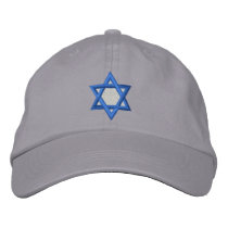 Star Of David Embroidered Baseball Cap
