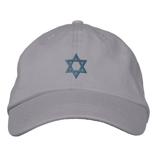 Star of David Embroidered Hat - Customized