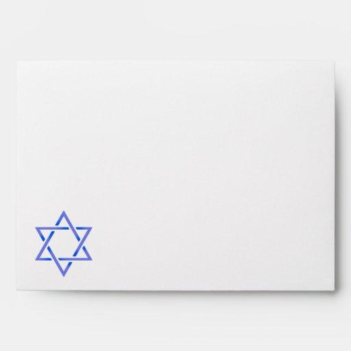 Star of David Envelope