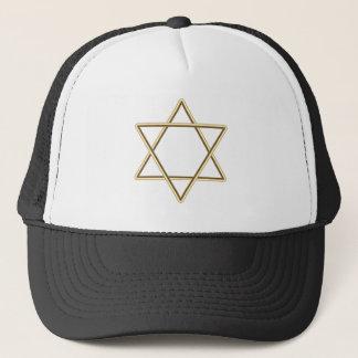 Star of David for Bar Mitzvah or Bat Mitzvah Trucker Hat
