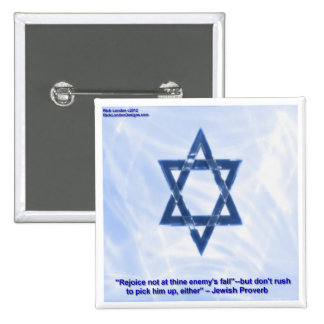 Star Of David & Funny Jewish Proverb Gifts & Cards Pinback Button