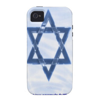 Star Of David & Funny Jewish Proverb Gifts & Cards iPhone 4 Case
