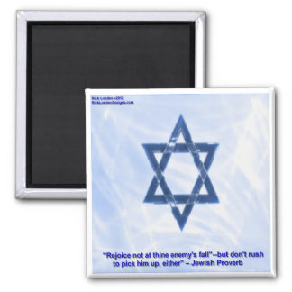 Star Of David & Funny Jewish Proverb Gifts & Cards Magnet