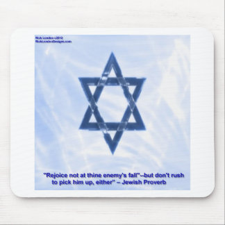 Star Of David & Funny Jewish Proverb Gifts & Cards Mouse Pad